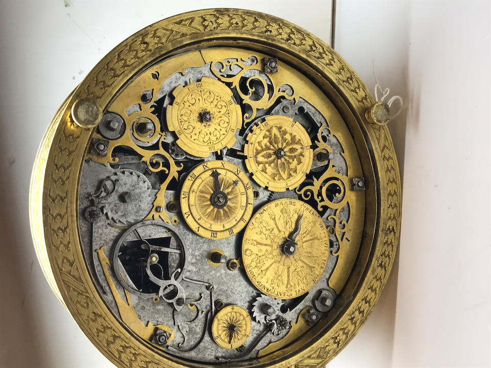 "A highly important South German quarter striking astronomical table clock with alarm from the group known as ""The Orpheus Clocks"",  circa 1570"