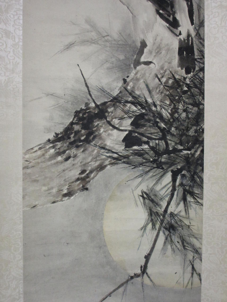 Gao Jianfu (1879-1950)  Crows in Moonlight