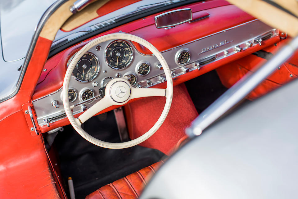 <b>1955 Mercedes-Benz 300SL Gullwing Coupe</b><br />Chassis no. 198.040.5500548<br />Engine no. 198.980.5500575