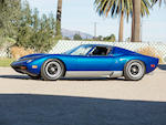 <b>1971 Lamborghini Miura SV</b><br />Chassis no. 4976<br />Engine no. 30692 (see text)