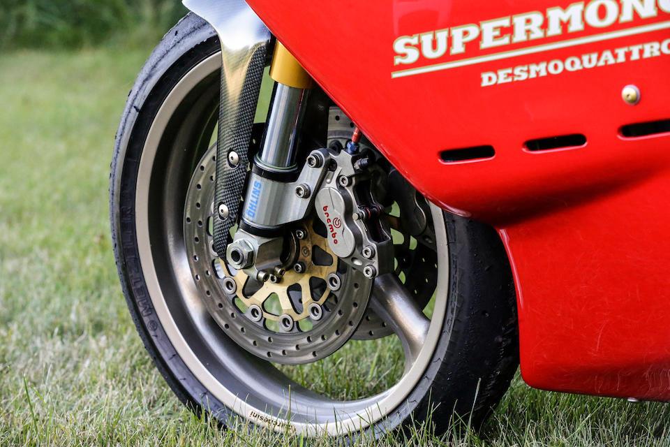 1993 Ducati 550cc Supermono Racing Motorcycle Frame no. ZDM550R*000016* Engine no. ZDM550W4*000016*