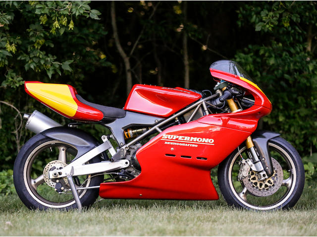 1993 Ducati 550cc Supermono Racing Motorcycle Frame no. ZDM550R*000016* Engine no. ZDM550W4*000016*