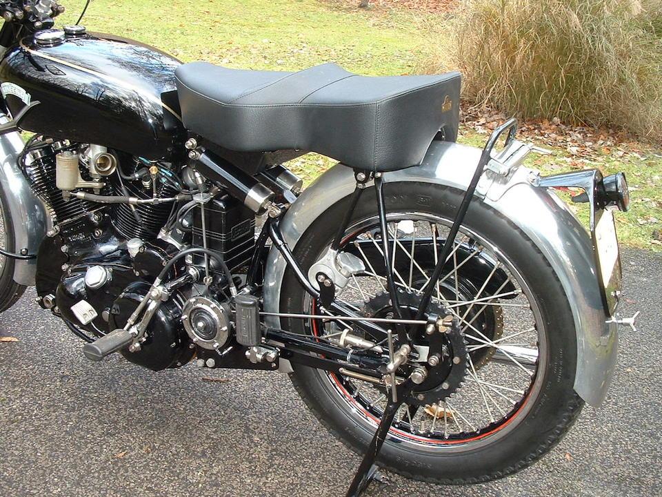 1950 Vincent 998cc Black Shadow Series-C Frame no. RC/5837B Engine no. F10AB/1B/3937