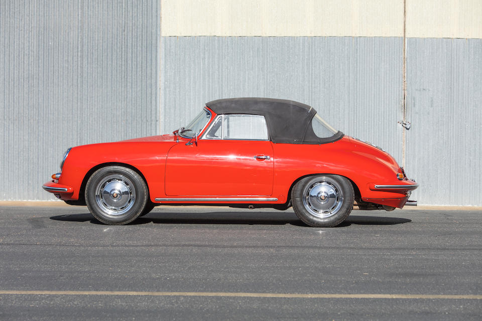 <b>1963 Porsche 356B Carrera 2 GS Cabriolet</b><br />Chassis no. 158183<br />Engine no. 97243