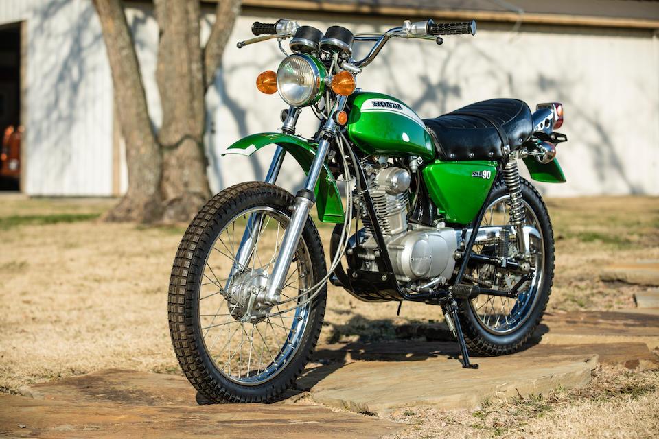 Marbles Motors Collection of Honda SL's, The complete range of 1971 Motosport models,