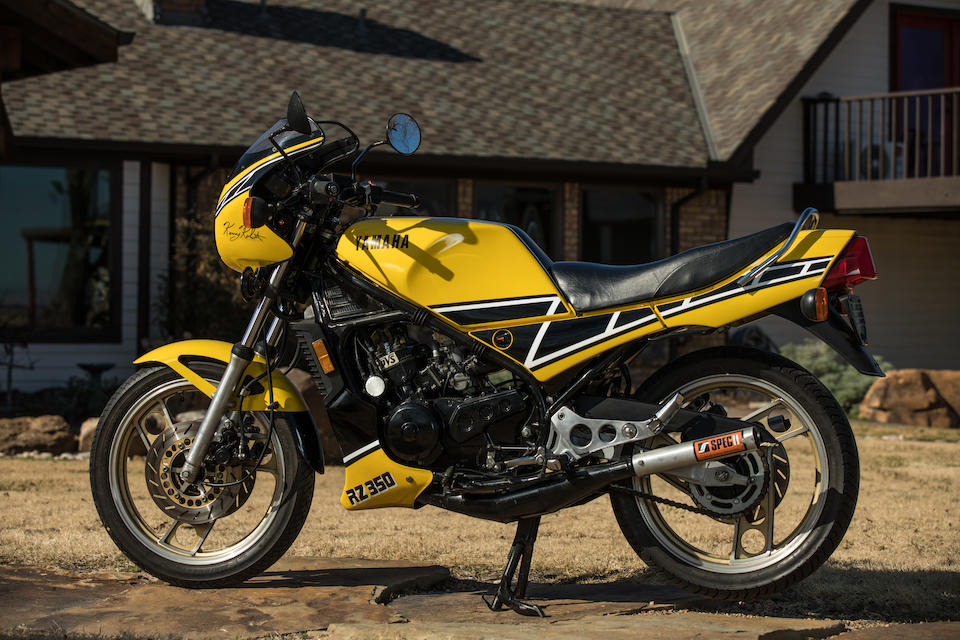 1984 Yamaha RZ350 Kenny Roberts Edition Frame no. JYA48H002EA000894 Engine no. 48H000894