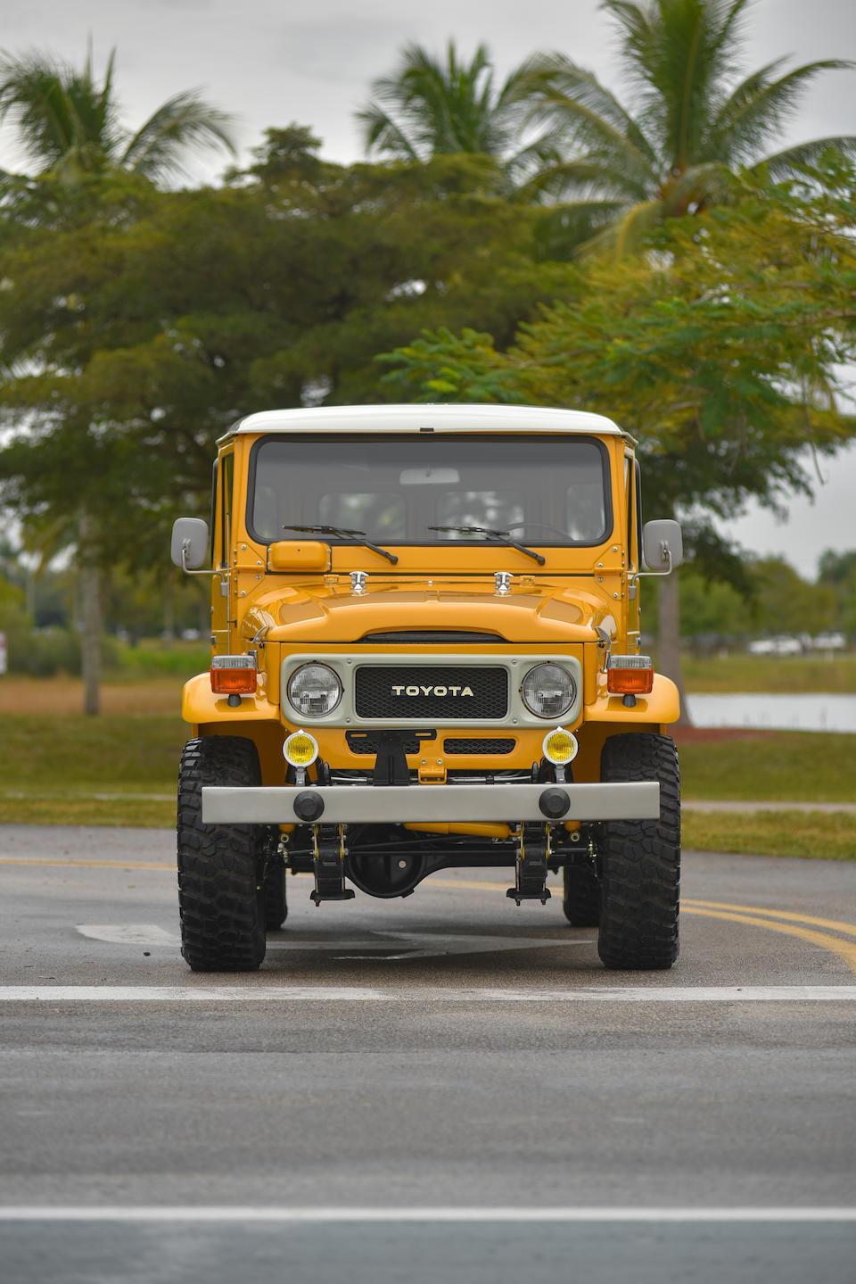 Bonhams : 1983 Toyota FJ45 'Troopy'Chassis no  FJ45941877Engine no