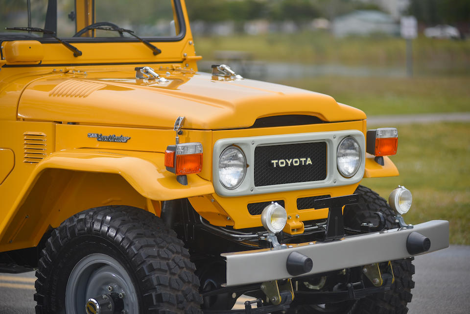 Bonhams : 1983 Toyota FJ45 'Troopy'Chassis no