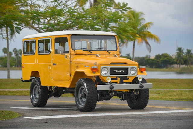 Bonhams : 1983 Toyota FJ45 'Troopy'Chassis no  FJ45941877Engine no