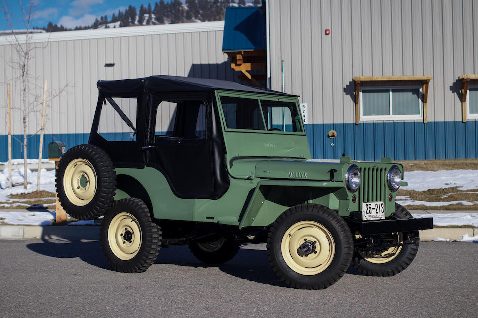 <b>1946 Willys-Overland CJ-2A Jeep</b><br />Chassis no. CJ2A30022