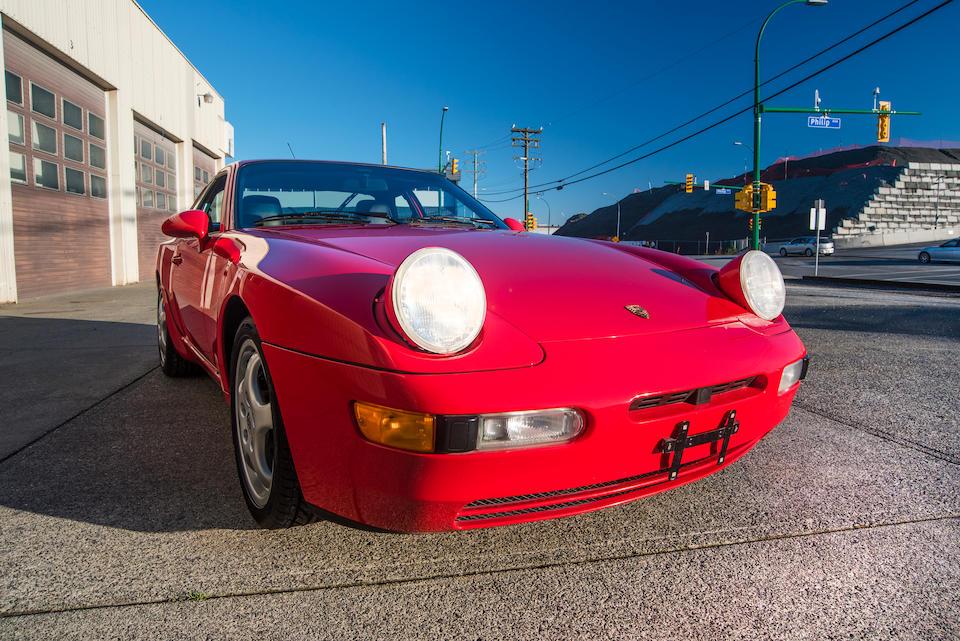 <b>1994 Porsche 968</b><br />VIN. WP0AA2961RS820075