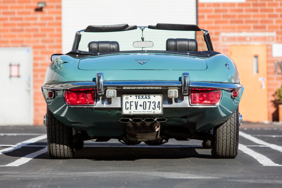 <b>1973 Jaguar E-Type Series III V12 Roadster</b><br />Chassis no. UD1S21268<br />Engine no. 7S8506LB