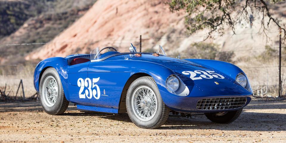<b>1954 Ferrari 500 Mondial Series I Spider</b><br />Chassis no. 0438MD<br />Engine no. 110 (Ferrari Classiche Engine)