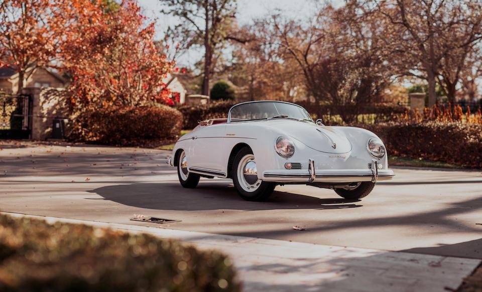 <b>1956 Porsche 356A 1600 Speedster</b><br />Chassis no. 82789<br />Engine no. 63620