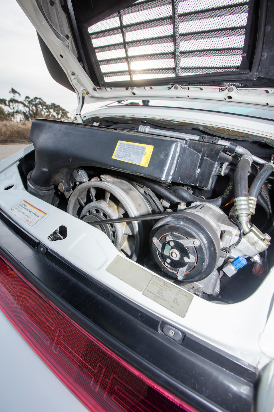 <b>1991 Porsche 911 Turbo Coupe</b><br />VIN. WP0AA2961MS480273
