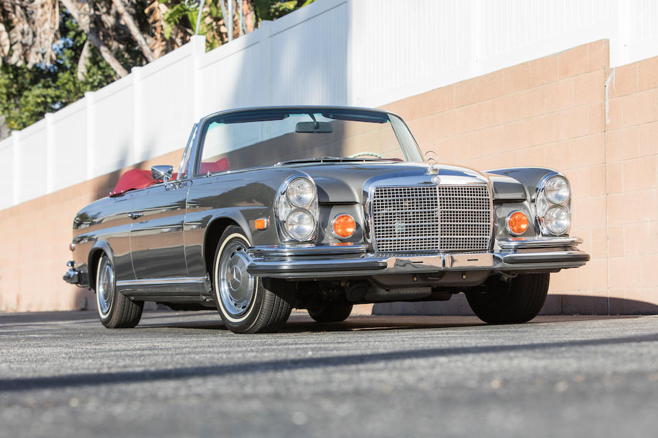 <b>1970 Mercedes-Benz 280SE 3.5 Cabriolet</b><br />Chassis no. 111027-12-002549