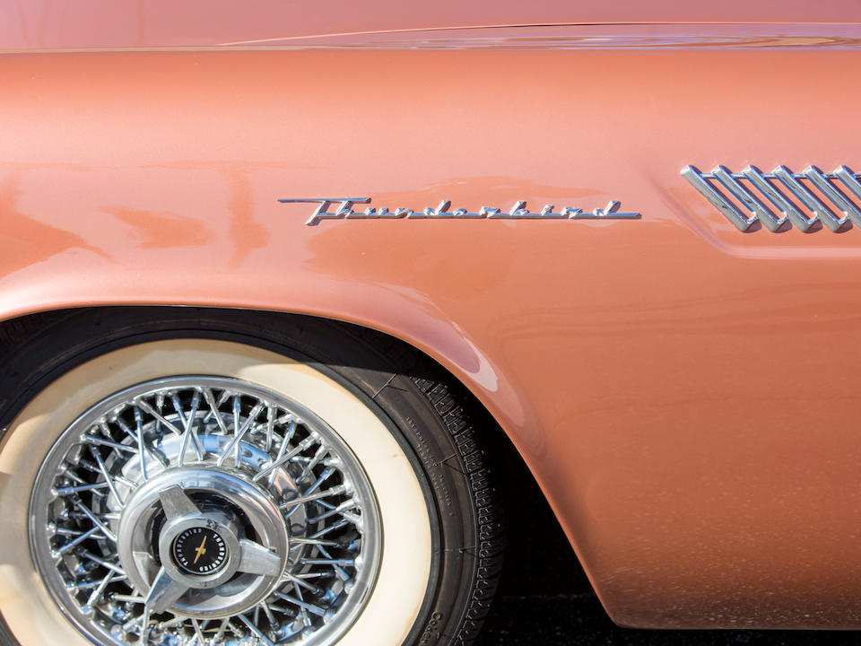 <b>1957 Ford Thunderbird</b><br />Chassis no. E7FH169124