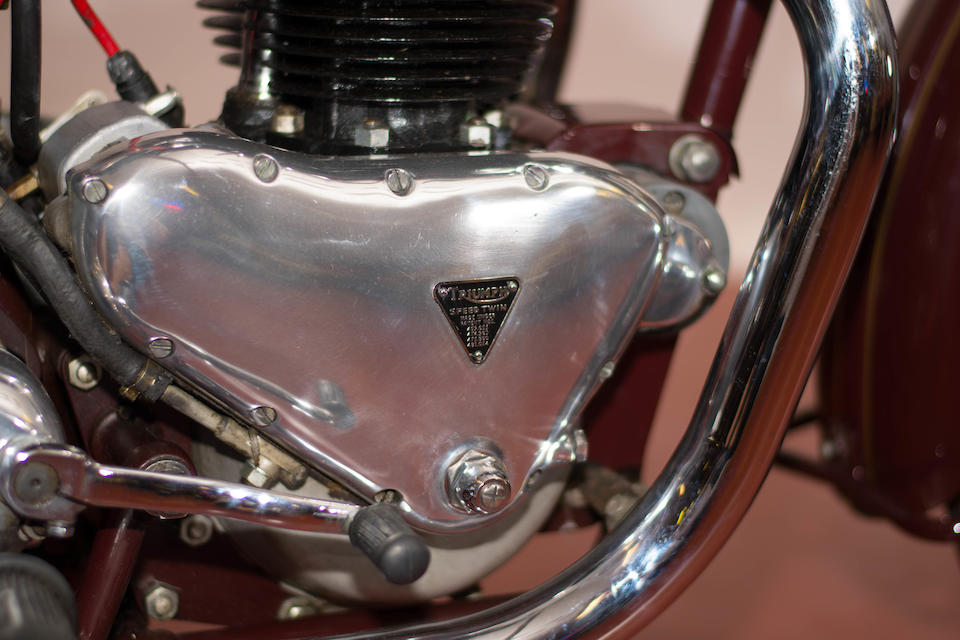 1949 Triumph 500cc 5T Speed Twin Frame no. 5T-9104468 Engine no. 5T 9104468