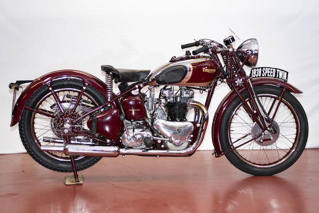 Bonhams 1938 Triumph 500cc 5t Speed Twin Engine No 8 5t 9926