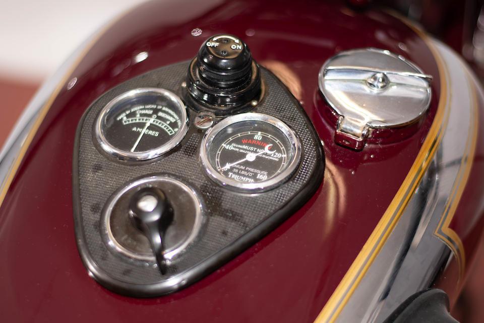 1938 Triumph 500cc 5T Speed Twin Engine no. 8-5T 9926