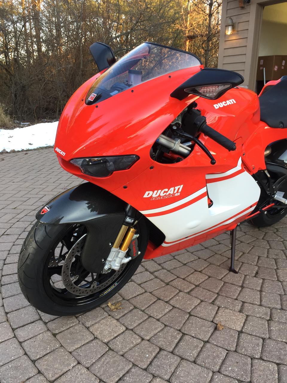 2008 Ducati D16RR Desmosedici Frame no. ZDM1ZDFW88B000894