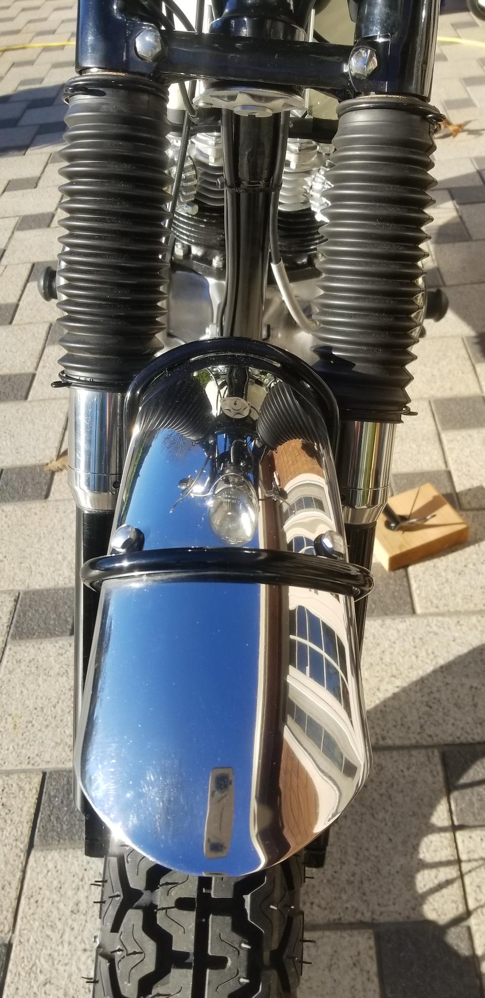 1967 Triumph 649cc T120R Bonneville Frame no. T120R DU45094 Engine no. T120R DU45094