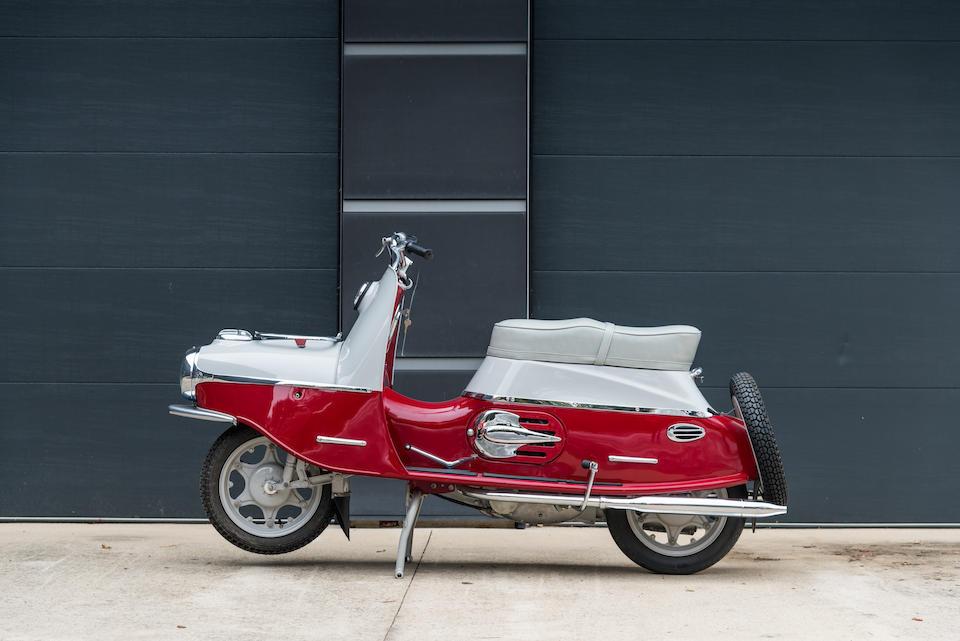 1960 CZ 175cc Cezeta 501.03  Frame no. 151449 Engine no. 152351
