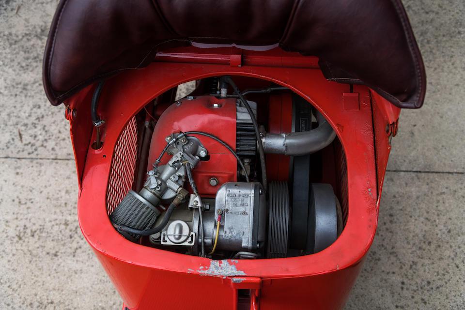 1949 Salsbury Model 85 Frame no. 10031 Engine no. D1B78 A796476