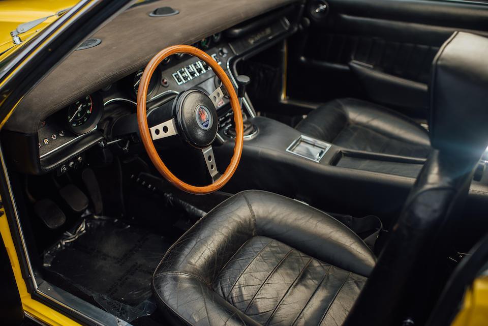 <b>1972 Maserati Ghibli SS COUPE</b><br />Chassis no. AM115/49-2126<br />Engine no. 115/49-2126
