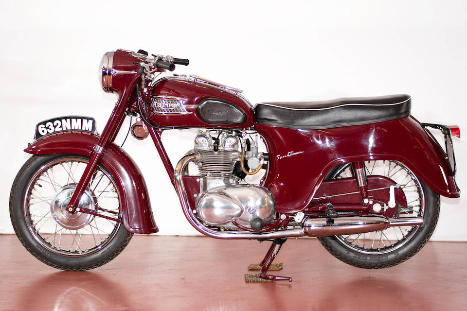 1962 Triumph 500cc 5TA Speedtwin Engine no. 5TA-H23816