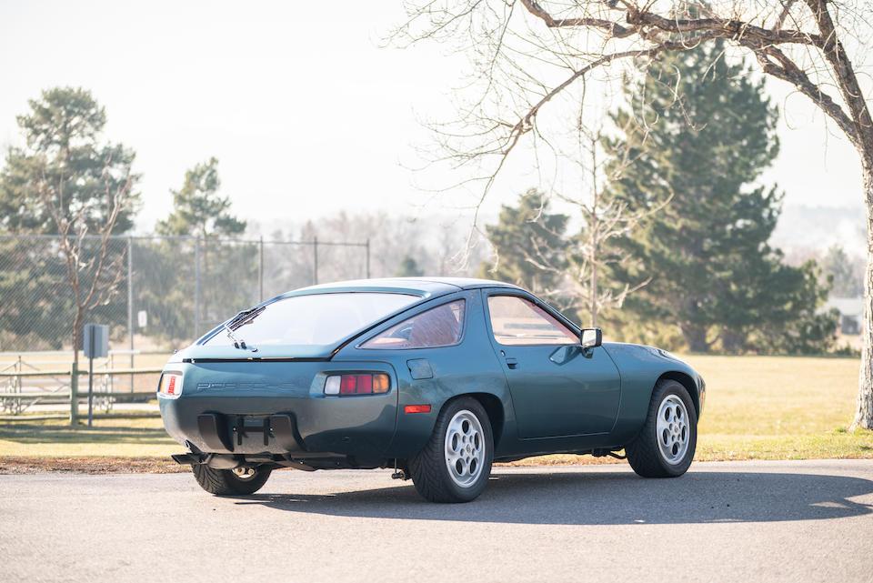 <b>1979 Porsche 928</b><br />Chassis no. 9289201197<br />Engine no. 8290931