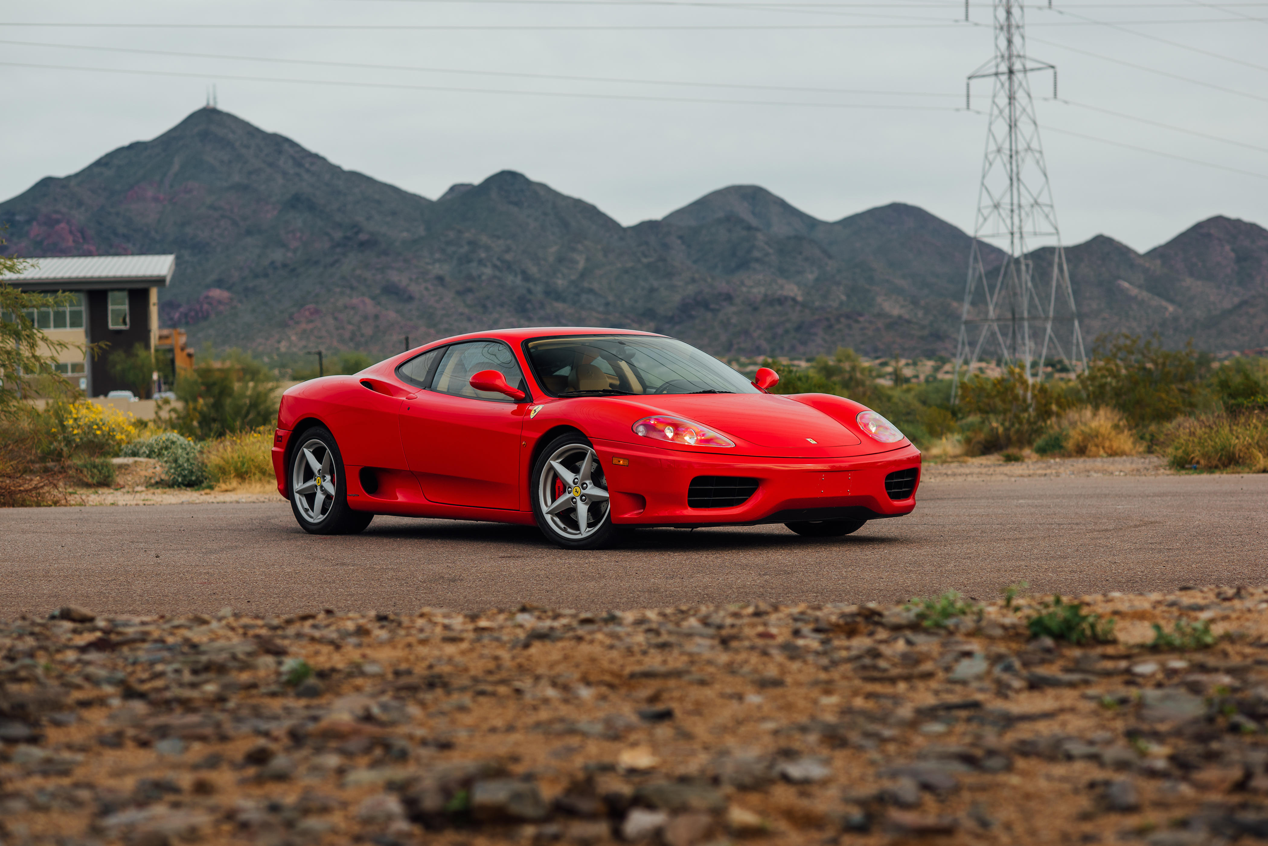 1999 Ferrari 360 Modena VIN. ZFFYS51A4X0116590 Design by Pininfarina