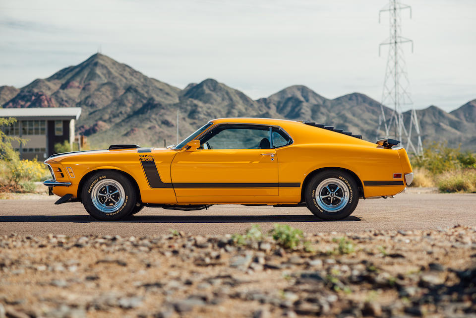<b>1970 Ford Mustang Boss 302 Sportsroof</b><br />Chassis no. 0T02G126865