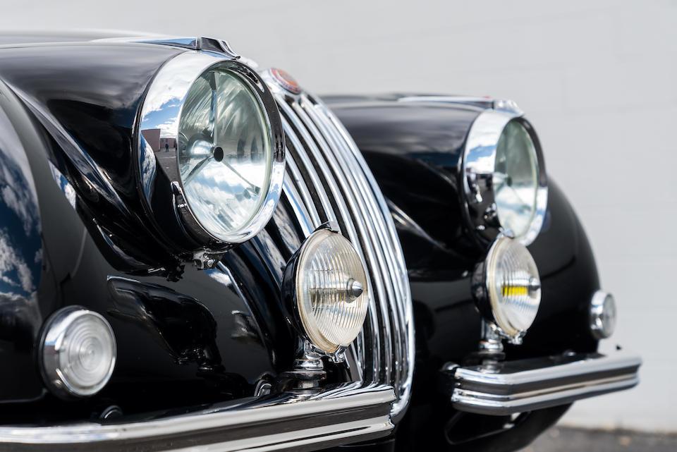 <b>1957 Jaguar XK140 SE Drophead Coupe</b><br />Chassis no. A819231<br />Engine no. G9357-8