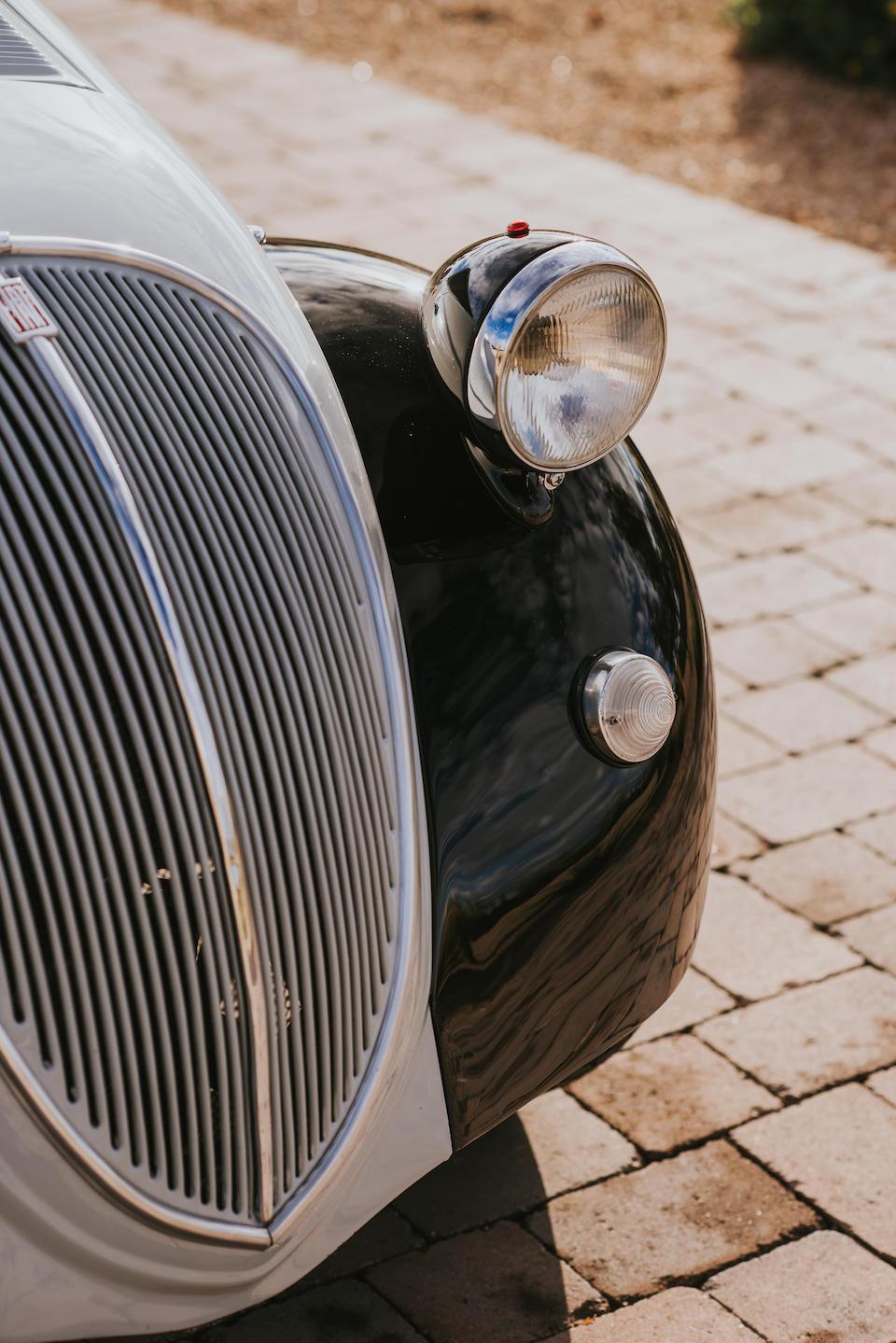 <b>1948 Fiat 500B Topolino Cabriolet</b><br />Chassis no. 500B131699<br />Engine no. 500B134881