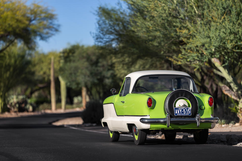 <b>1959 Nash Metropolitan Hard-Top Coupe</b><br />Chassis no. E64069<br />Engine no. 15F-N-H5236