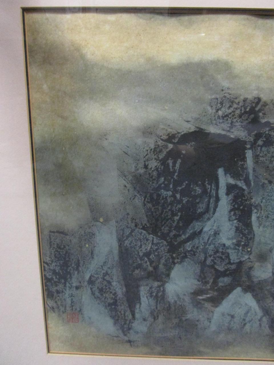 Wang Jiqian (1907-2003) Landscape, 1969