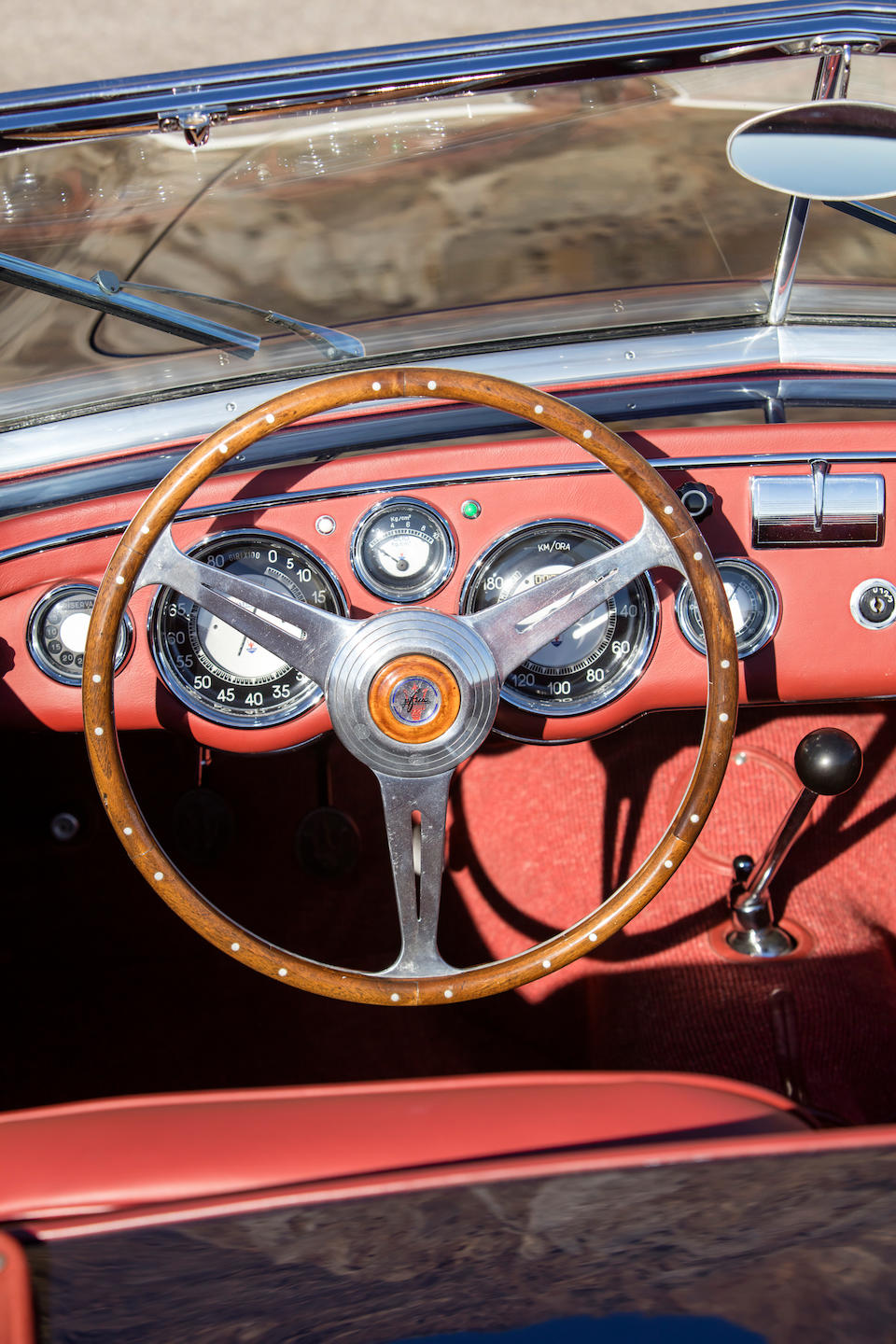 <b>1951 Maserati A6G/2000 Spider</b><br />Chassis no. 2017<br />Engine no. 2013 (See text)