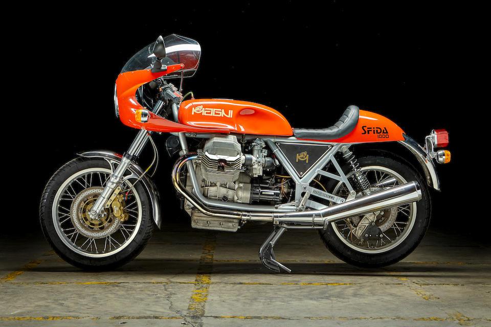 1989 Magni-Guzzi 949cc Sfida Frame no. MAGNI*MG*0386 Engine no. VV*018194*