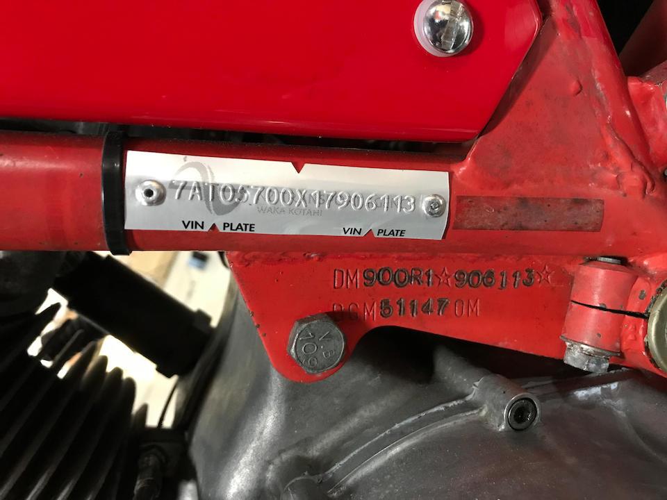 1983 Ducati 846cc Mike Hailwood Replica Frame no. DM900R1*906113* Engine no. 096203 DM860