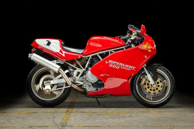 1993 Ducati 900 Superlight II Frame no. ZDM906SC2*008357*