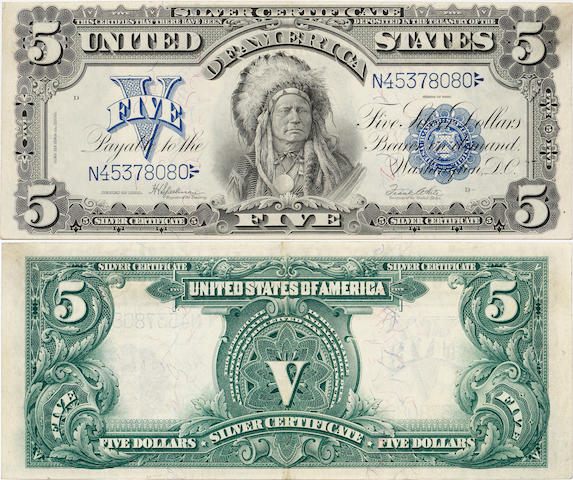 Fr. 281, 1899 $5 Silver Certificate