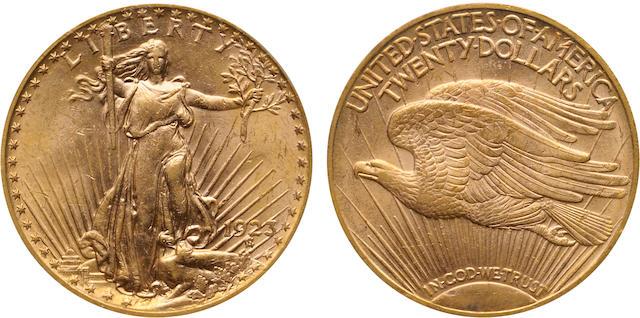 1923 $20 MS61 PCGS