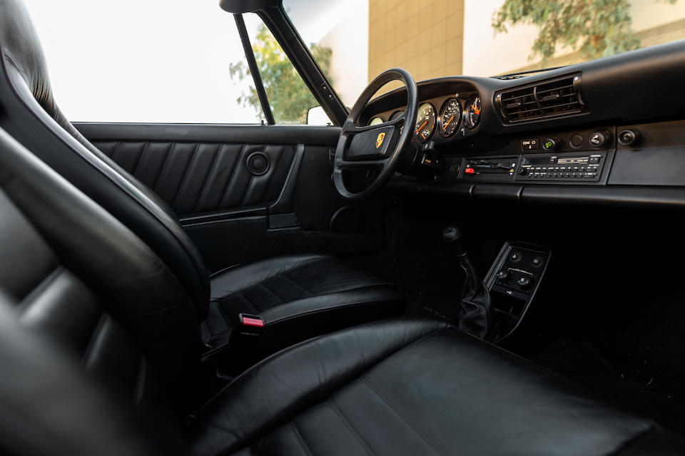 <b>1989 Porsche 930 Turbo Slant Nose Cabriolet</b><br />VIN. WP0EB0939KS070407<br />Engine no. 68K00819