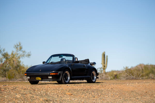 <b>1989 Porsche 930 Turbo Slant Nose Cabriolet</b><br />VIN. WP0EB0939KS070407<br />Engine no. 68K00819