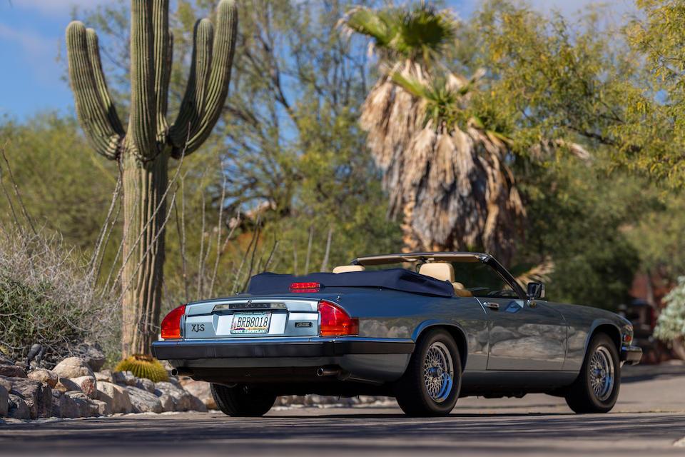 <b>1990 Jaguar XJ-S V12 Convertible</b><br />VIN. SAJTW484XLC175032