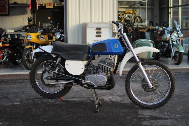 1973 CZ 400cc Type 981-4 Frame no. 981-4-000888 Engine no. 981-2-000888