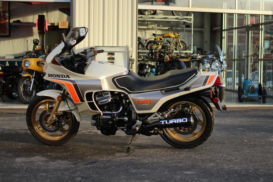 1982 Honda CX500 Turbo Frame no. JH2PC0307CM001006 Engine no. JH2PC0307CM001006