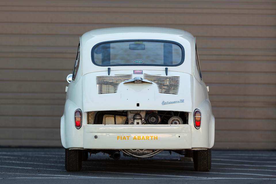 <b>1959 Fiat-Abarth Berlina 750 Derivazione</b><br />Chassis no. 737815