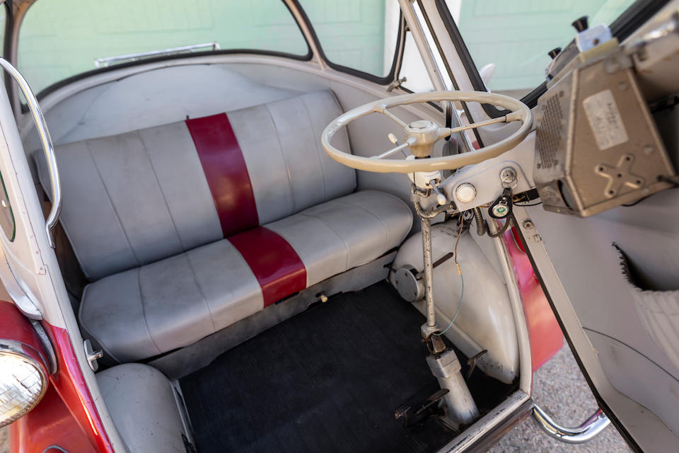 <b>1956 BMW Isetta 300 Bubble Window Z-Bar</b><br />Chassis no. 494210<br />Engine no. 494116